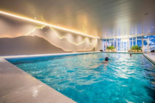 The swimming pool at or close to Belvedere Swiss Quality Hotel