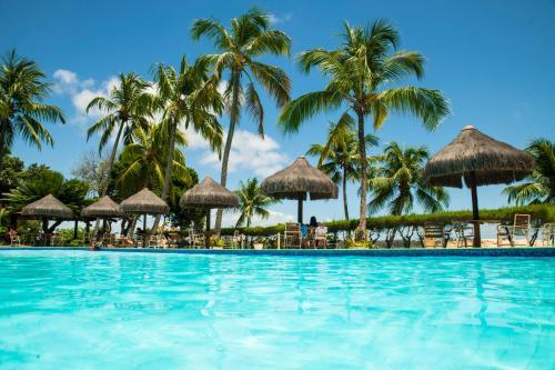 Der Swimmingpool an oder in der Nähe von Hotel Marinas
