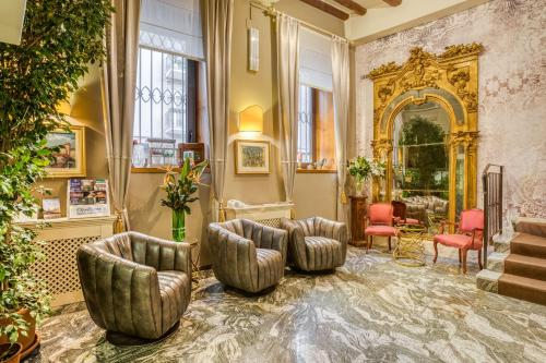Hall o reception di Boutique Hotel Scalzi - Adults Only