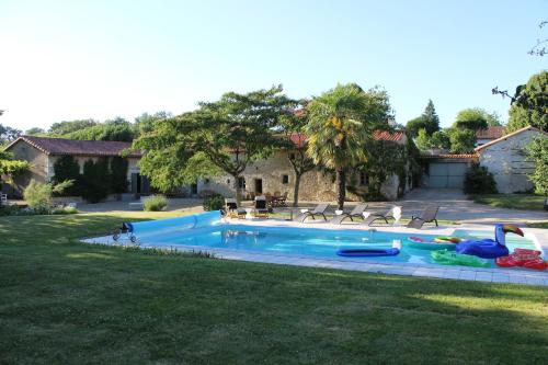 The swimming pool at or near La Batonnerie