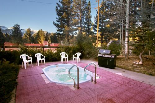 The swimming pool at or near Sierra Lodge