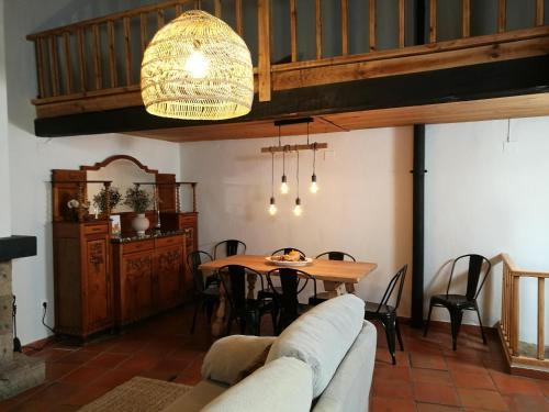 A restaurant or other place to eat at El Paller de Can Puig a la Pera 4/6 pax