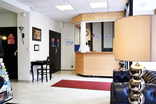 Hall ou réception de l'établissement Hotel Luxor