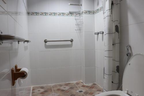 Ванная комната в Hotel Bocas Town