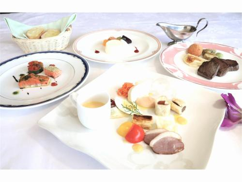 Breakfast options available to guests at Hotel Natural Garden Nikko
