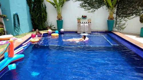 A piscina localizada em Villa Sophia ou nos arredores