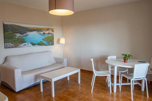 Zona de estar de Siesta Mar Apartamentos