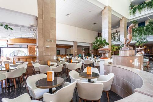 The lounge or bar area at Louis Phaethon Beach