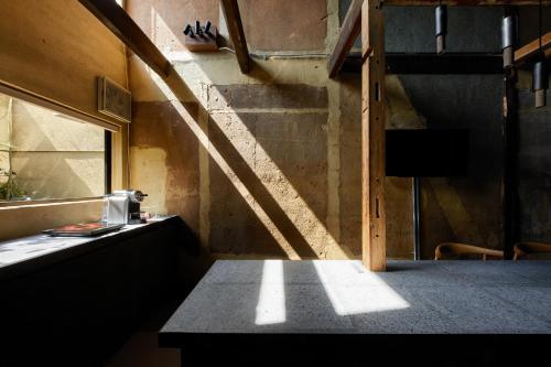 宿ルKYOTO HANARE 障子ノ宿にあるバスルーム