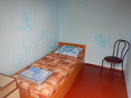 Кровать или кровати в номере Гостевой дом на Клубном