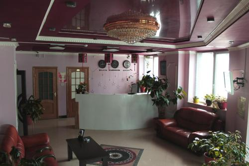 The lobby or reception area at Hotel Istok