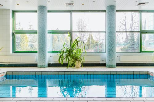 The swimming pool at or near Holiday Inn Moscow Vinogradovo
