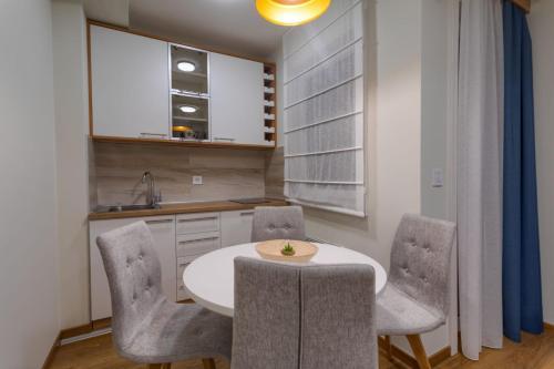 Kuhinja ili čajna kuhinja u objektu Vila Borova Zlatibor Apartments
