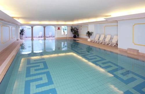 The swimming pool at or near Imperial Hotel