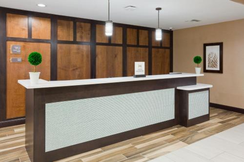 The lobby or reception area at Homewood Suites Davenport