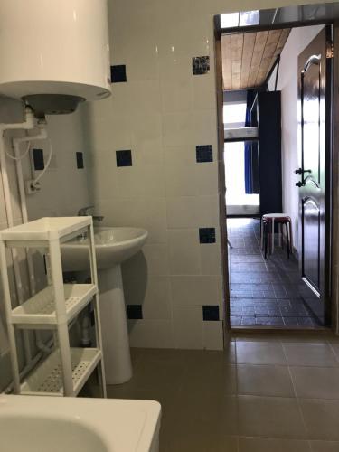 Ванная комната в Гостевой дом Белуха Чендек
