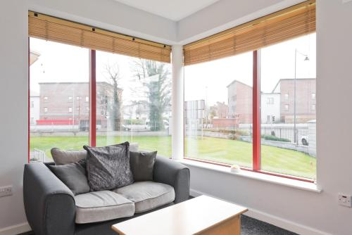 A seating area at Hazelwood Short Stay Accommodation