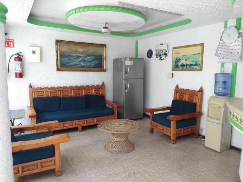 Zona de estar de Hotel Montemar
