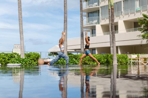 The swimming pool at or near The Modern Honolulu By Diamond Resorts
