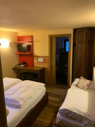 Letto o letti in una camera di Hosquet Lodge
