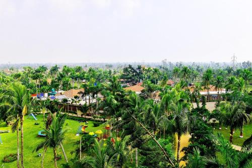 A bird's-eye view of Toshali Sands Nature Escape
