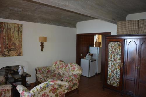 Zona de estar de Casas Las Gaviotas Y Palmito