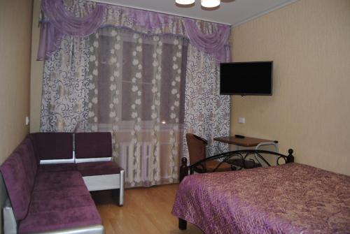 Телевизор и/или развлекательный центр в Vostok Hotel