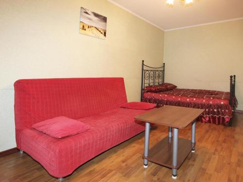 A seating area at ApartLux Ostankinskaya