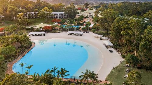 A bird's-eye view of InterContinental Sanctuary Cove Resort