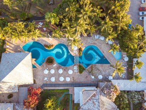 A view of the pool at Portobello Praia or nearby