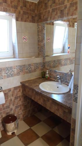 Ванная комната в Guest House Na Svetloy
