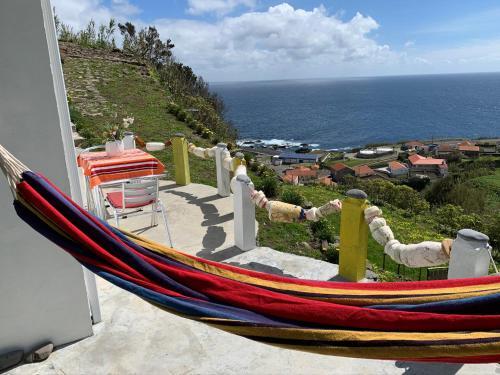 A balcony or terrace at Casa Pedras Brancas