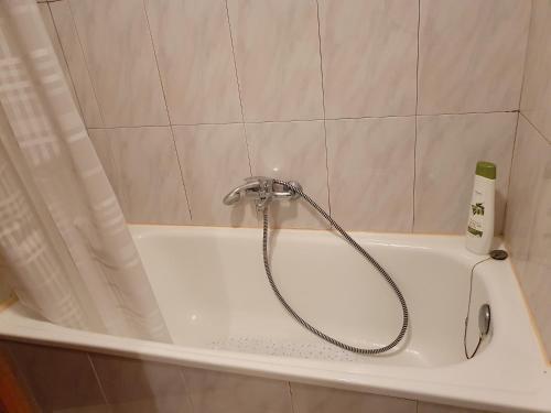 A bathroom at Apartamento centro Santander