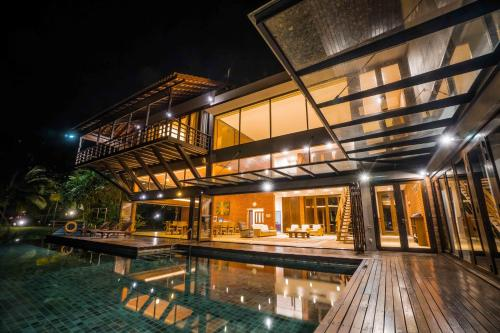 The swimming pool at or close to Mangala Resort and Spa - All Villa