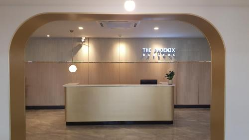 The lobby or reception area at The Phoenix Hotel Bangkok - Suvarnabhumi Airport