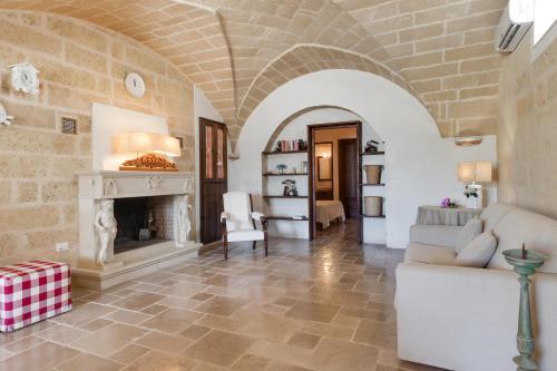 Area soggiorno di Le Lantane - Luxury Rooms
