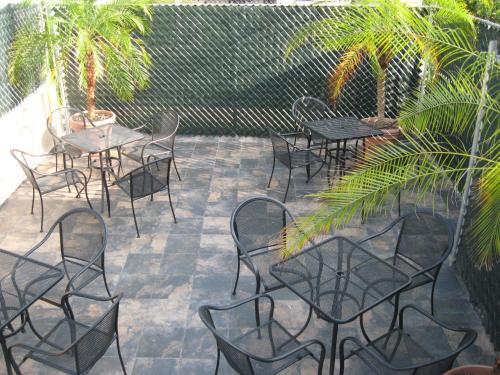 Un restaurante o sitio para comer en Suites Havre