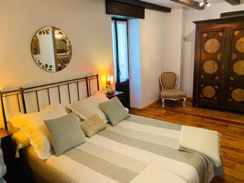 Cama o camas de una habitación en Argonz Etxea