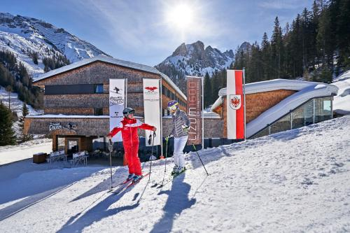 Lizum 1600 | Kompetenzzentrum Snowsport Tirol during the winter