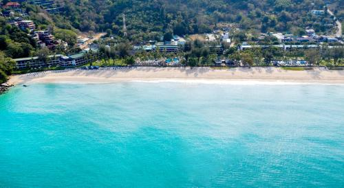 A bird's-eye view of Katathani Phuket Beach Resort