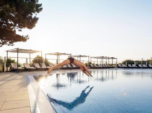 The swimming pool at or near Maritim Seehotel Timmendorfer Strand