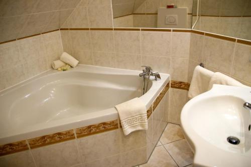 A bathroom at Seeberg