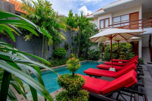 The swimming pool at or near Asoka Hotel & Suite