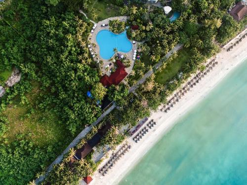 Sunshine Resort Intime Sanya с высоты птичьего полета