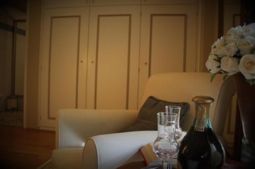 Ein Restaurant oder anderes Speiselokal in der Unterkunft Villa Trapp
