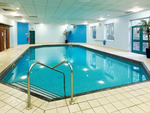 The swimming pool at or near Mercure Chester North Woodhey House Hotel