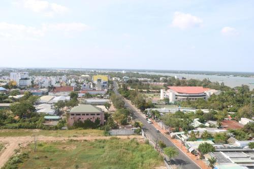 Vue panoramique sur l'établissement Muong Thanh Luxury Can Tho Hotel