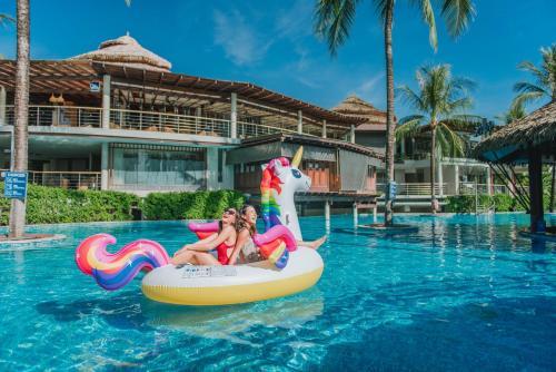 Bassein majutusasutuses The Haven Khao Lak või selle lähedal
