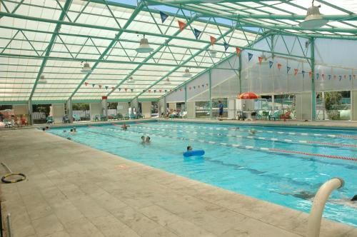 The swimming pool at or near Yad Hashmona Hotel