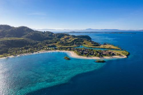 A bird's-eye view of Six Senses Fiji